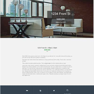 Cherry Lane Single Property Websites