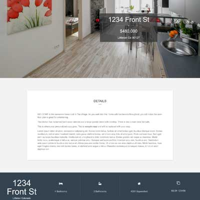 Maple Lane Single Property Websites