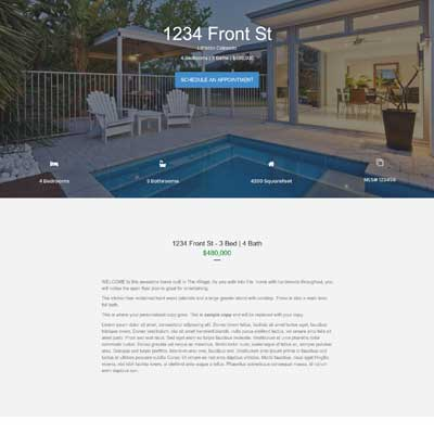 Spruce Lane Single Property Websites